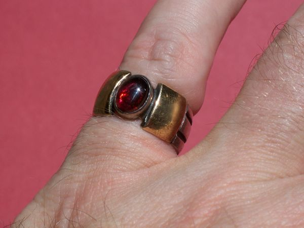 Small male Devotee ring